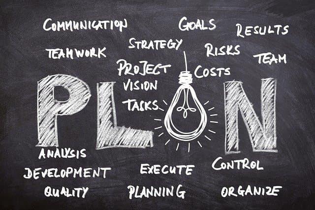 Designwebsite plan d'action digital