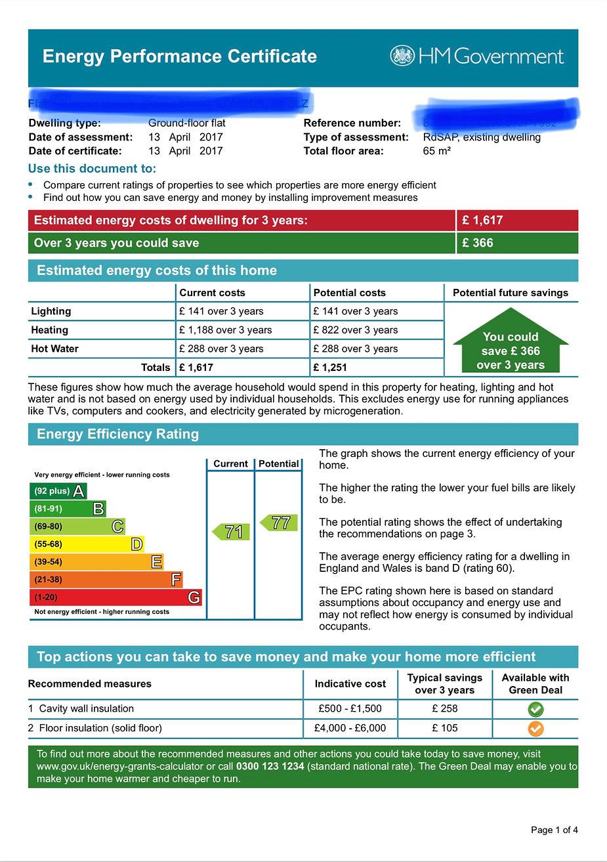 EPC - London's Electrical Services Ltd