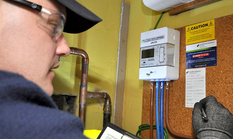 Electric Meter Installation