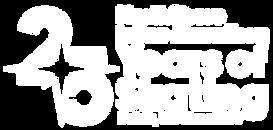 25 Full White Logo.png