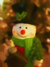 snowman, Christmas, holiday, season, winter, Frosty