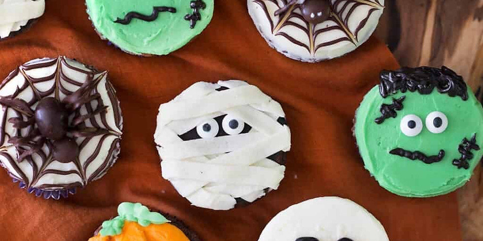 Halloween Cupcakes - CANCELLED