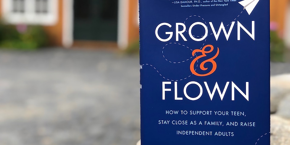 Grown and Flown Author Event