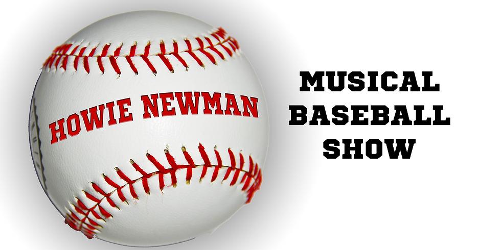 VIRTUAL: Musical Baseball Show (Second Showing)