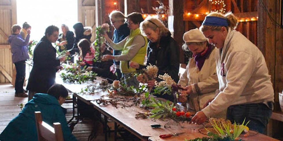 FULL: Wreath Making Workshop with Wright-Locke Farm