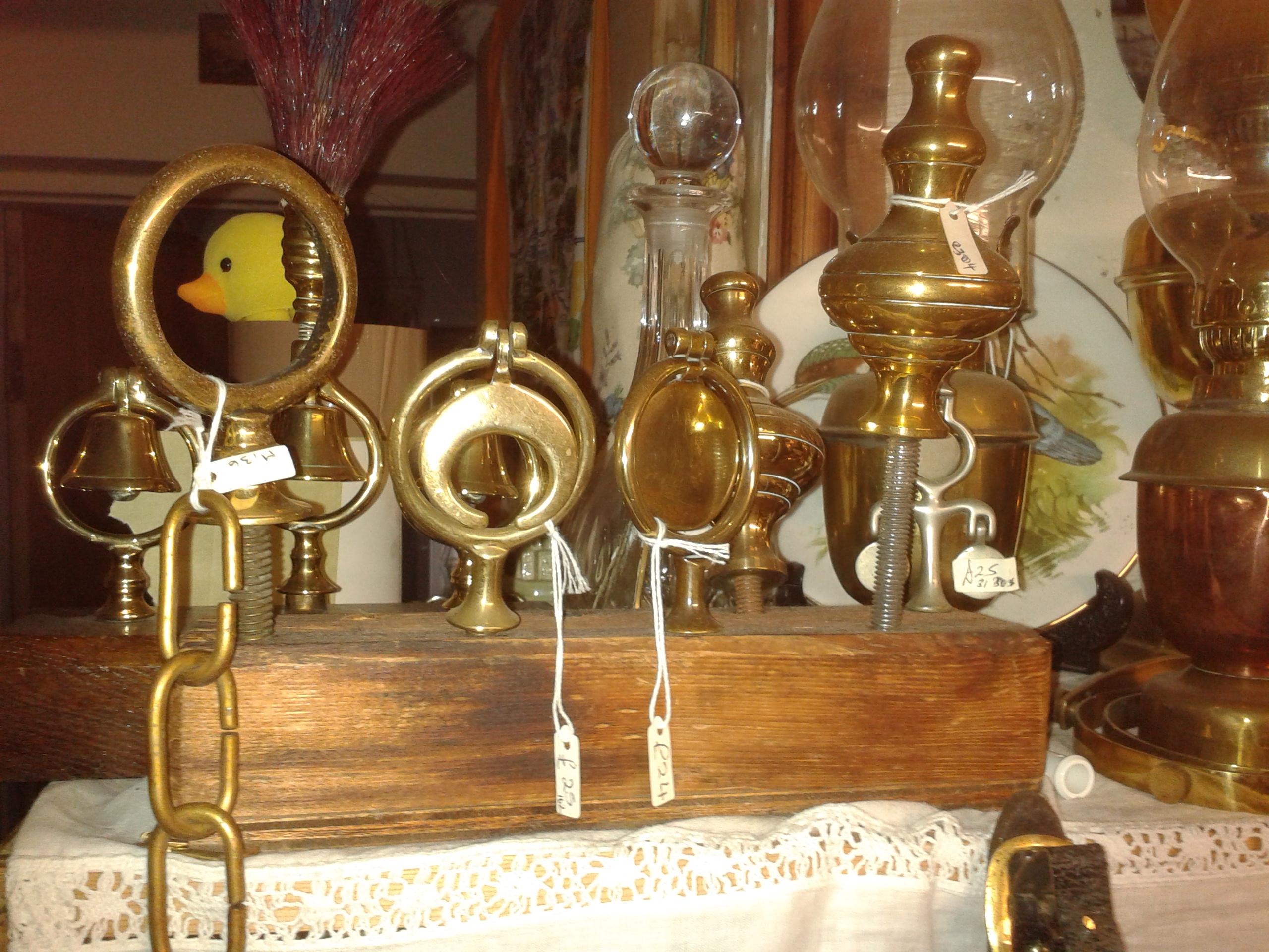 Brass things!