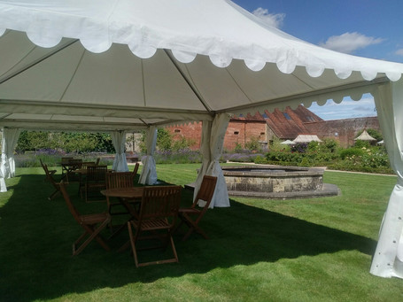 Marquee Hire West Sussex Petworth Brookfield Marquees Ltd
