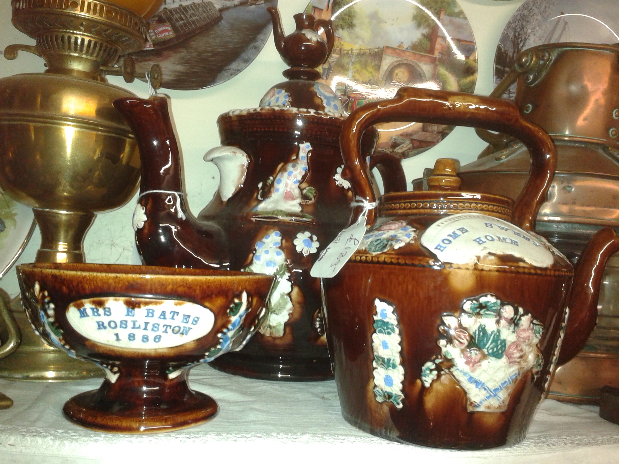 Original measham bargeware