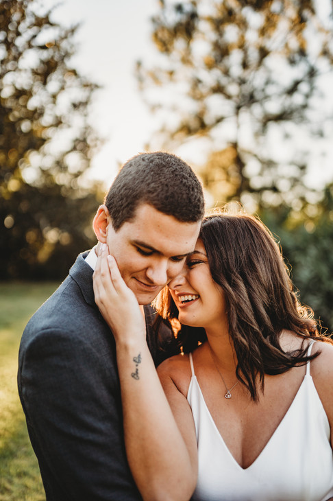 bok tower engagement photo