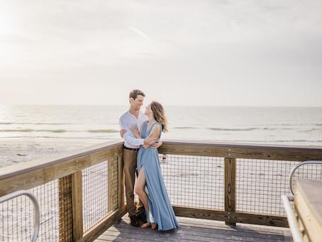 Fort De Soto Engagement Session | Central Florida Wedding Photographer