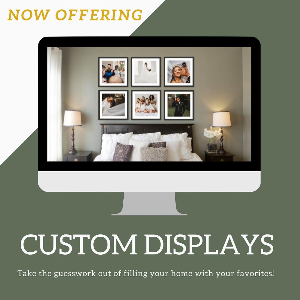 custom display wall art