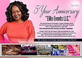 Elite Events - 5 Year Anniversary - Jan