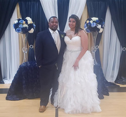 Walker Wedding - Bride and Groom - June