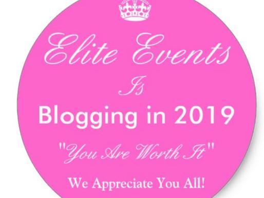 Elite Events LLC, Blogging in 2019