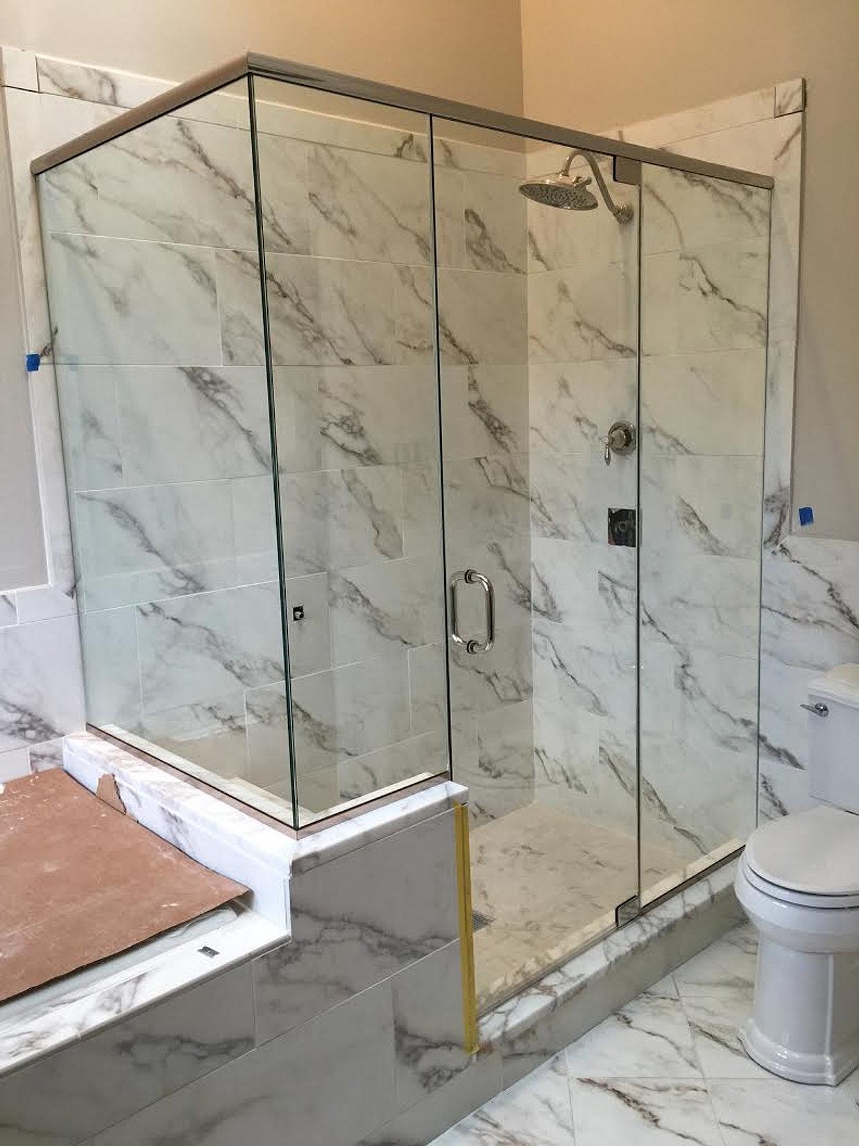 Glass For Bathroom Jacks Glass Showers Residential Glass