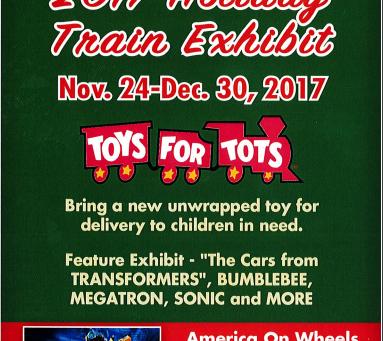 2017 America on Wheels Train Exhibit Schedule & Costs - Opens Today!