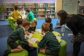KS2 Writing Workshop at Simon Balle all-through school