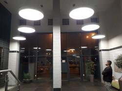 לובי אגמים נתניה   אורולד עילית תאורה