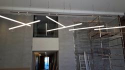 פרופיל  תאורה צינור קוטר 60סמ