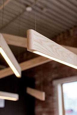 פרופיל תאורה עץ