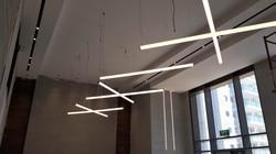 פרופיל  תאורה צינור קוטר 60
