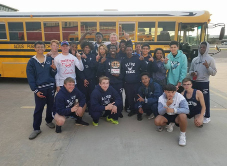 Boys Track Takes 1st & Girls Take Second