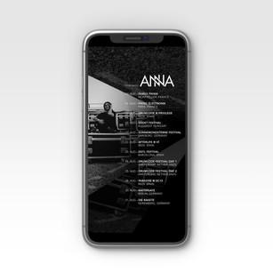 DJ ANNA WORLD TOUR