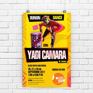 Yadi Camara workshop
