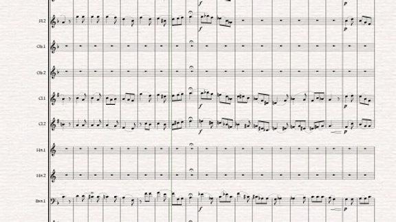 Berlioz: Shepherd's Farewell H130 - wind dectet