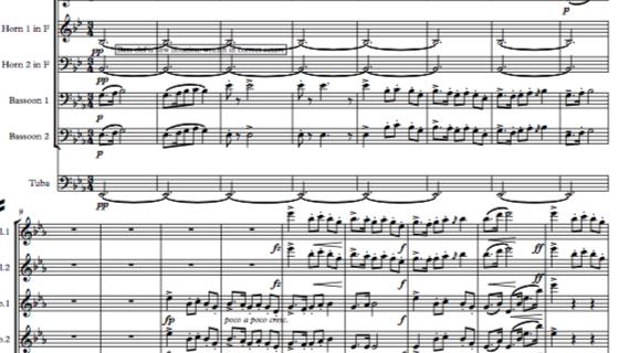 Dvorak: Legends Op.59 Mvt.9 in D (transposed) - wind dectet