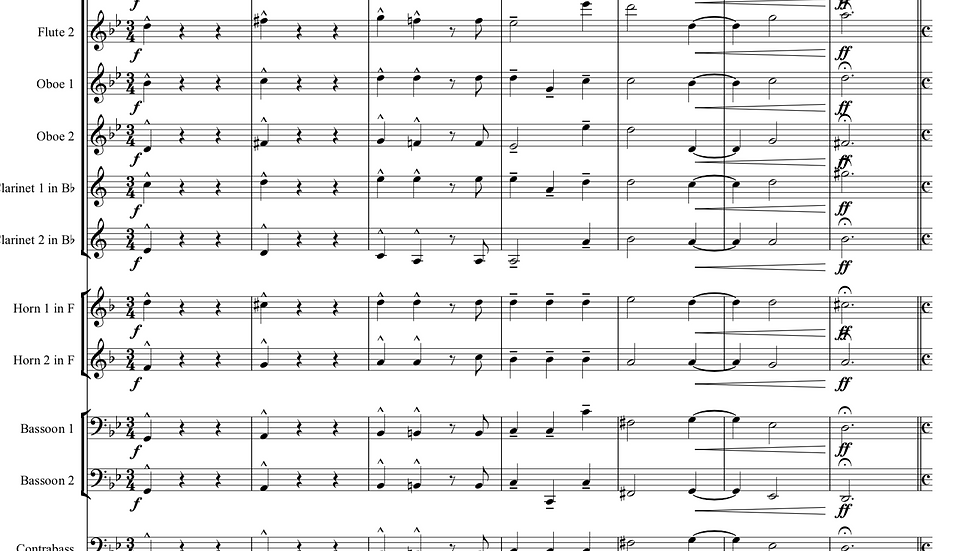 Corelli: Concerto Grosso Op.6 No.8 (Christmas Concerto) - wind dectet