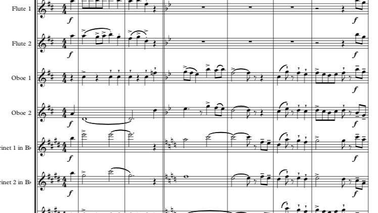 Prokoviev: Troika (Lieutenant Kijé) - symphonic wind