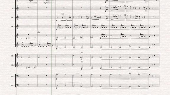 """Debussy: Prelude VI """"Des pas sur la neige"""" - wind dectet"""