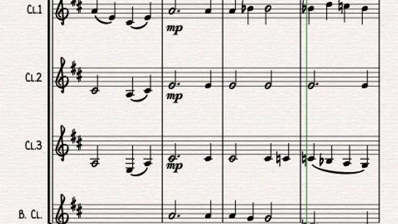 "Mozart: ""Ave Verum Corpus"" K618 Motette - clarinet quartet"