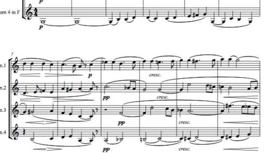 Humperdinck: Hänsel und Gretel: Vorspiel (Hansel and Gretel: Prelude) - horn qua