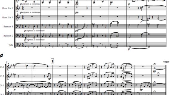 Elgar: Theme & 10 Variations (inc. Nimrod) Enigma Variations Op.36 -wind dectet