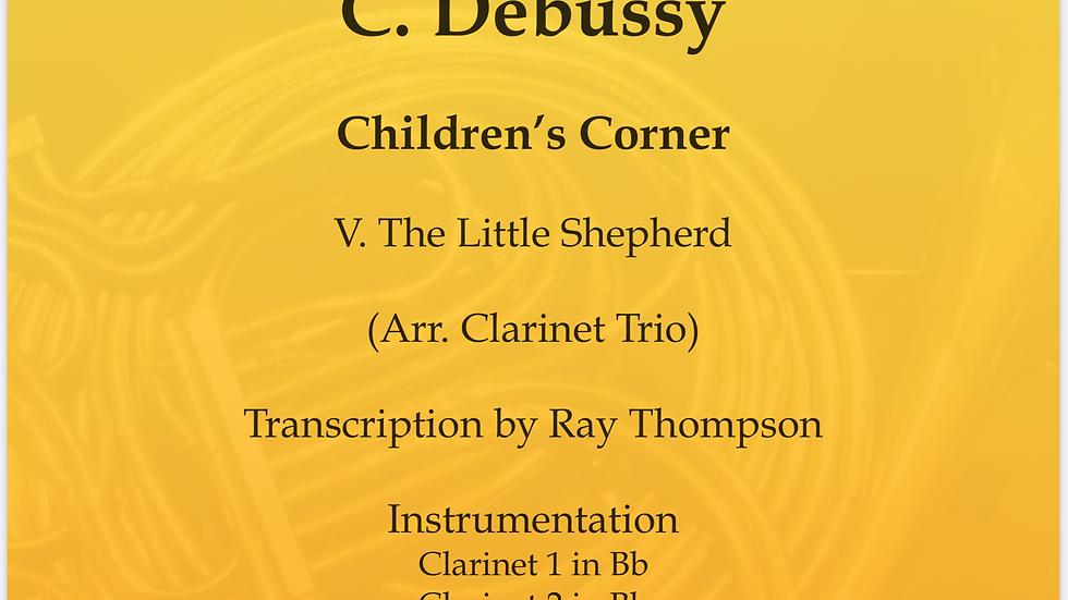Debussy:Serenade of the Doll - clarinet trio