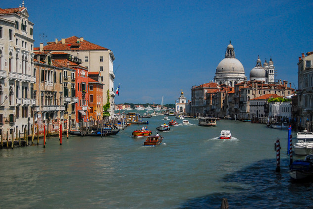 View from Accademia Bridge - Venice, IT