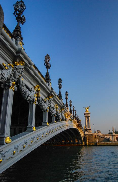 Ponte De Alexandre Paris, France