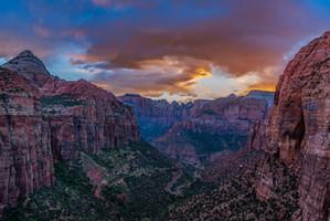 Canyon Overlook Zion, Utah