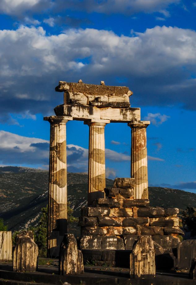 Oracle at Delphi - Delphi, Greece