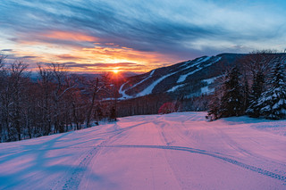 Winter Sunrise - Killington, VT