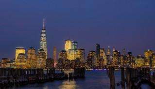 NYC at Night - Jersey City, NJ