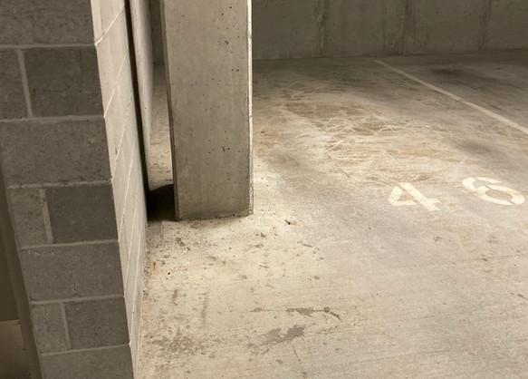 Cracked floor repair