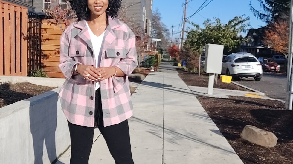 Pink Portland Girl Flannel