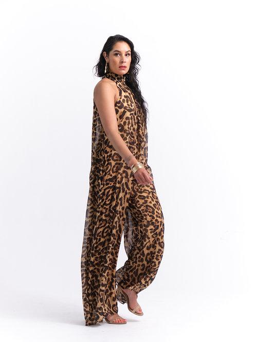 Wild Thing Leopard Jumpsuit