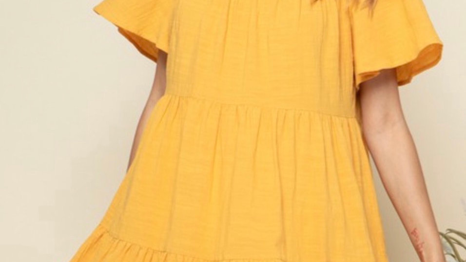 Maddy Tiered Baby Doll Dress