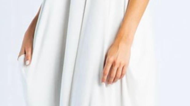 Harem Maxi Dress with Pockets