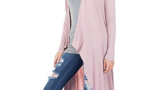 Dusty Rose Duster