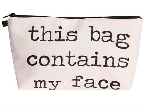 My Face Makeup Bag
